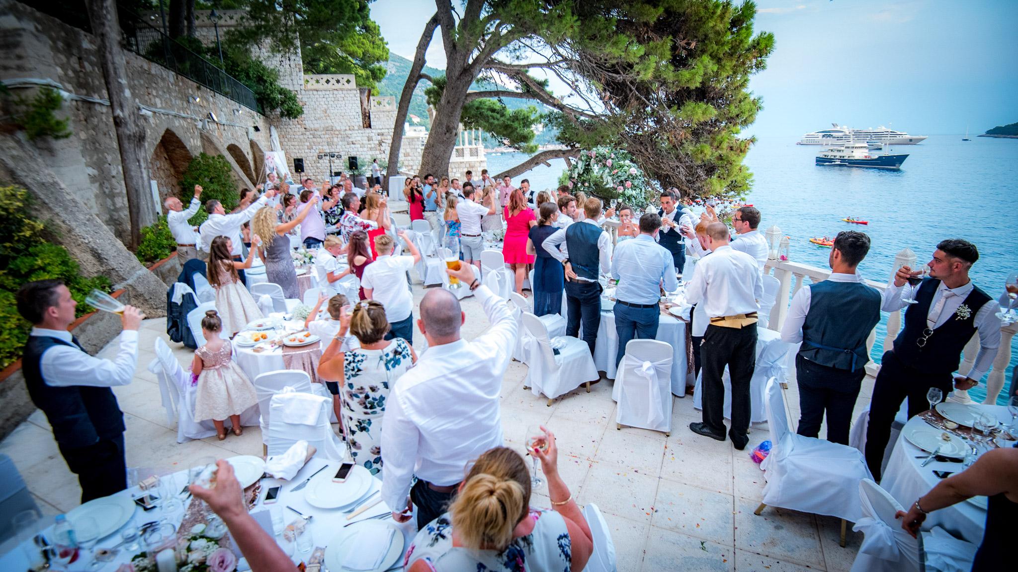 Laurel & Paul Dubrovnik Wedding