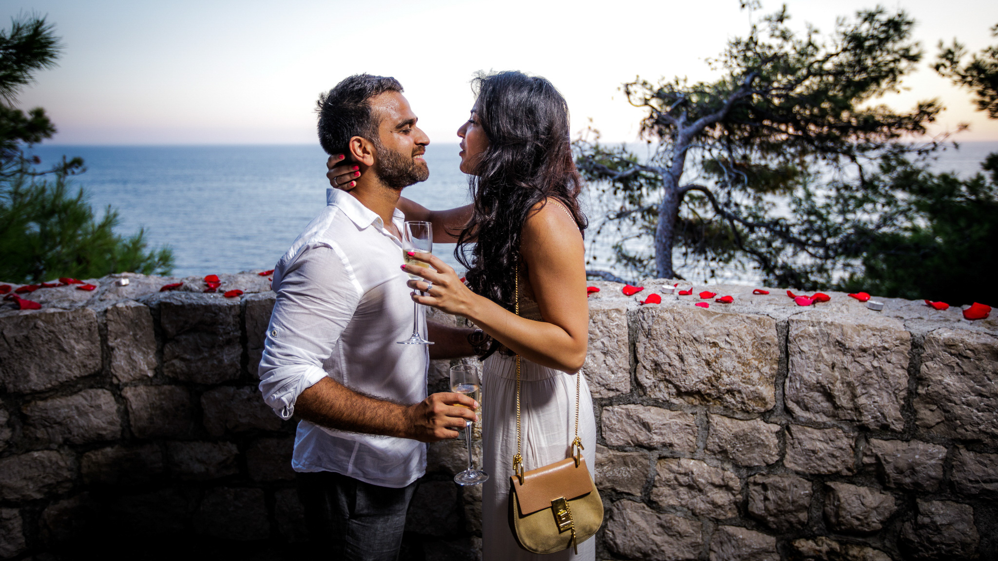 Proposal at view point Pallace